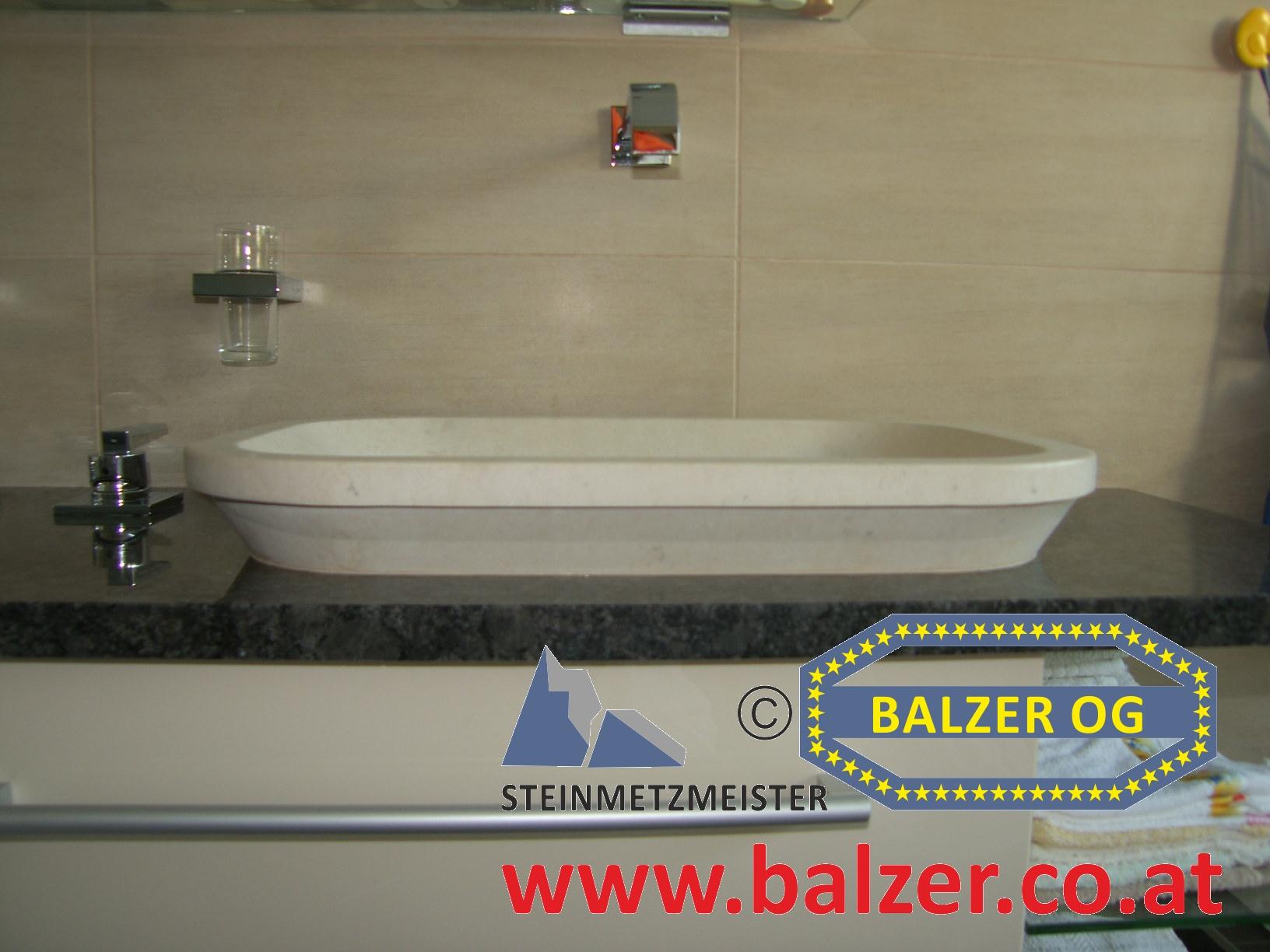 waschtischplatten & waschbecken - balzer og